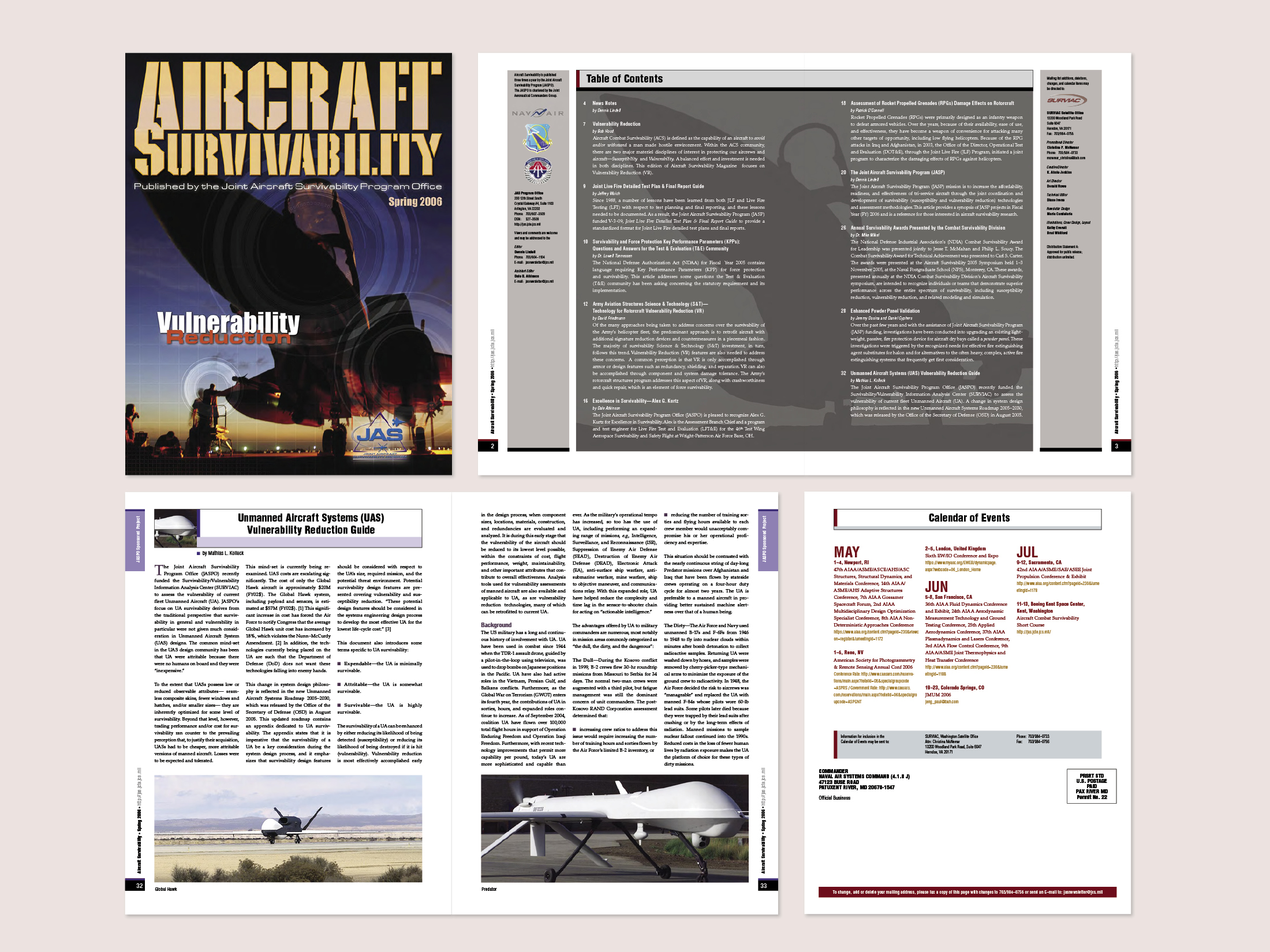 Aircraft Survivability Newsletter