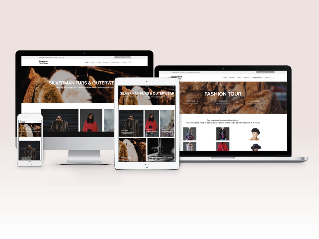 Silverman Furs Website