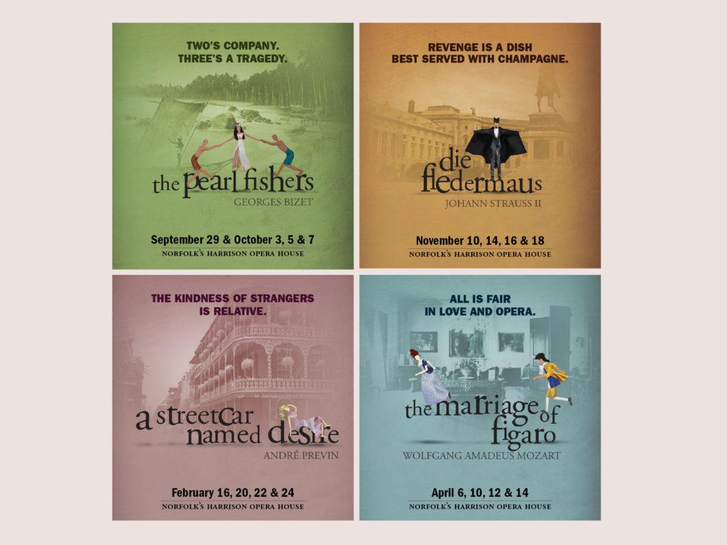 Virginia Opera 2012-13 Season Concept Art