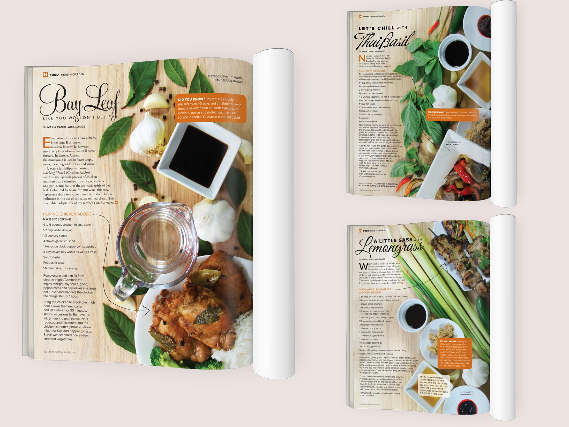 Health Journal's Herb'n'Garden Column