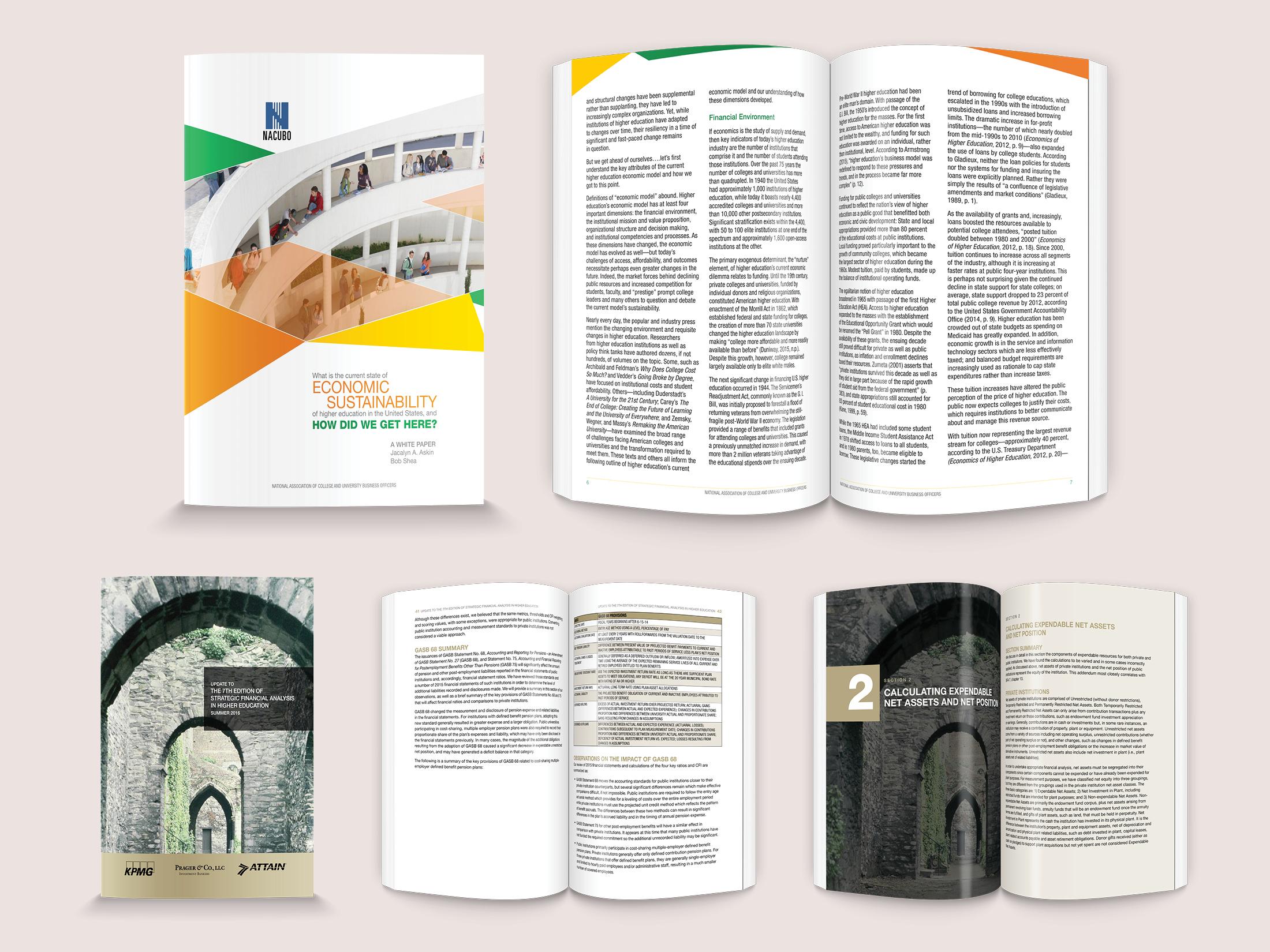 Various NACUBO Publications
