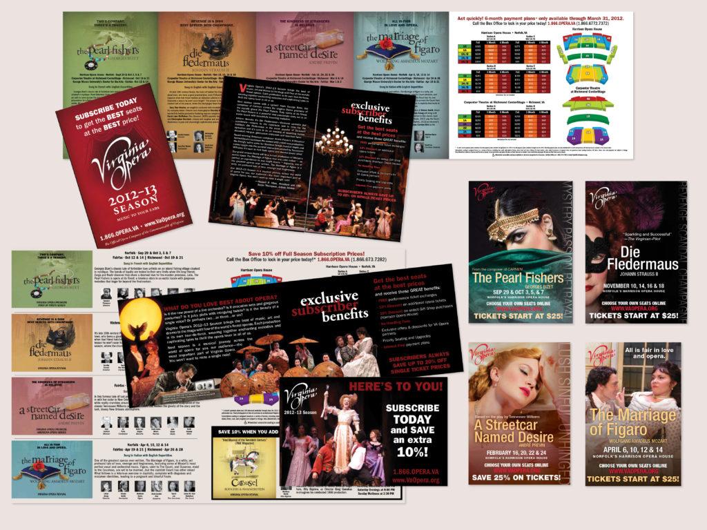 Virginia Opera 2012-2013 Season Campaign