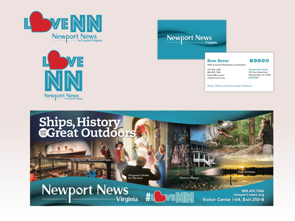 Newport News Tourism Branding
